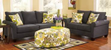 buy ashley furniture 1650138 1650135 set nolana charcoal
