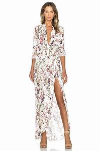 Haute Hippie 3/4 Sleeve Onesuit in Swan from Revolve Clothing