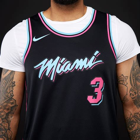 Shop nba jerseys in official swingman and nba city edition styles at fansedge. Mens Replica - Nike NBA Dwyane Wade Miami Heat City ...