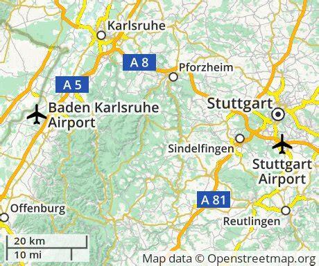stuttgart on map cheap flights to stuttgart germany euroflights info