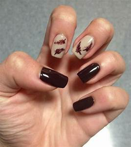15+ Cute & Easy Fall / Autumn Nail Art Designs & Ideas ...
