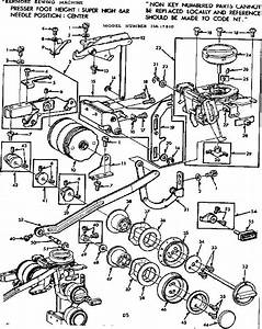 Feed Regulator And Dial Control Diagram  U0026 Parts List For