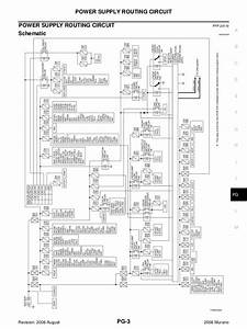 2009 Nissan Murano Radio Wiring Diagram
