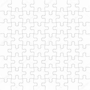 Beautiful seamless wallpaper with jigsaw puzzle — Stock ...