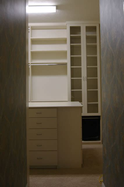 spaceman home office quot his hers quot closet design