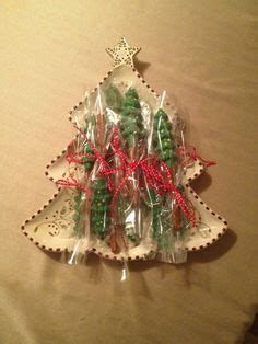 for a christmas tree christmas table on green punch pretzels 7826