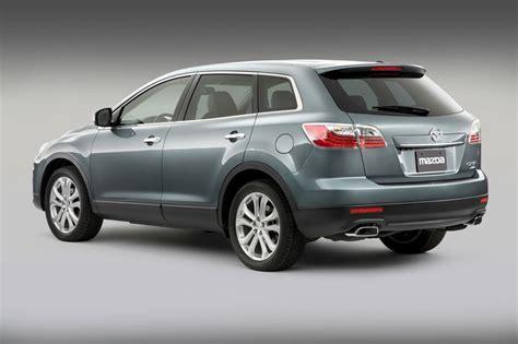 who makes mazda cars 2010 mazda cx 9 facelift makes debut in new york