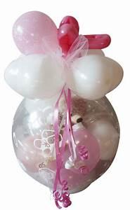 Geschenk Für Taufe Mädchen : taufe geburt geschenk im ballon geschenkverpackung geldgeschenk ~ Frokenaadalensverden.com Haus und Dekorationen