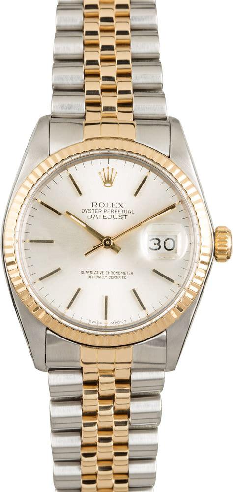 Rolex Datejust 16013 Silver Dial Jubilee
