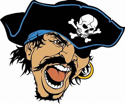 Pirate Clipart Mascot Head Roosevelt Captain Mad