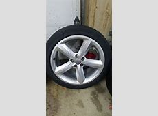 For Sale 18x85 ET29 OEM Audi A5 wheels with 2454018