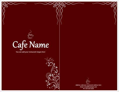 Restaurant menu design crello【menu maker】create your own menu free no design skills make cool menu in a few clicks! Cafe Menu Template - Word Templates