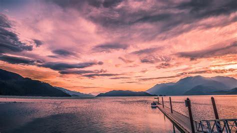 canada harrison lake beautiful landscape wallpaper