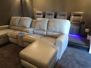 sofa cinema palliser theater seating with media sofa gorgeous room mccabe 39 s theater and living