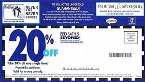 Bed Bath And Beyond Could Be Eliminating That 20 Coupon