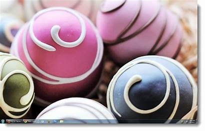Easter Windows Themes Eggs Decorated Decorate Pc