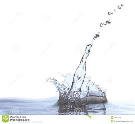 Beautiful Splash Of Pure Water Royalty Free Stock Photo