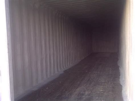 shipping container insulation midgaard spray foam systems