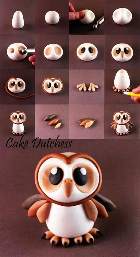 25 best ideas about polymer clay owl on clay owl white owls and fimo clay
