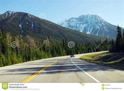 Driving In Mountain Road Stock Photography Image 5249432
