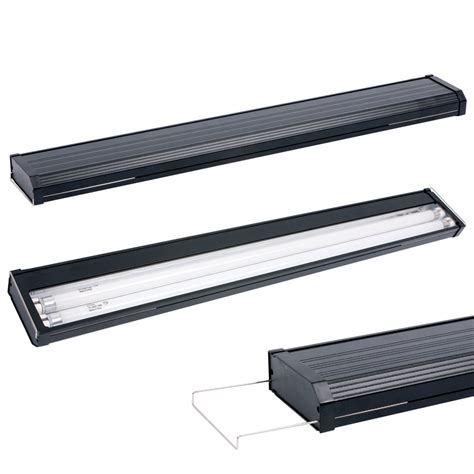 aqueon freshwater t5 dual l aquarium light fixtures