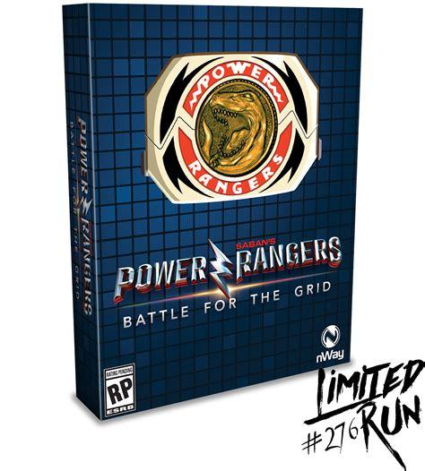 Limited Run #276: Power Rangers: Battle for the Grid Mega ...