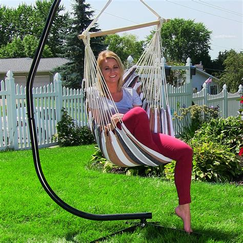 hanging hammock chair swing  indooroutdoor  max