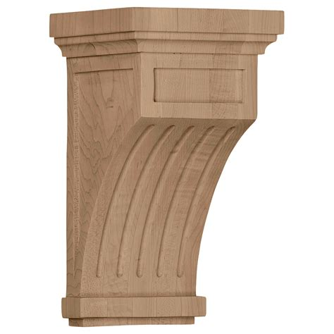 Wood Corbels by Fluted Corbels Wood Corbels