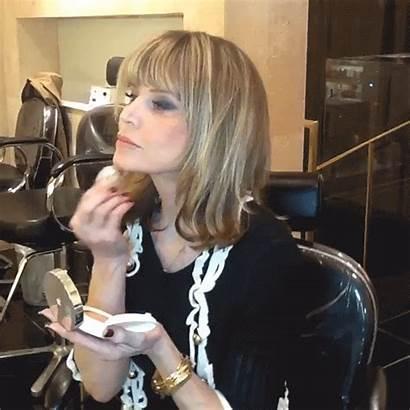 Makeup Mature Sandy Linter Vogue Ageless Veteran