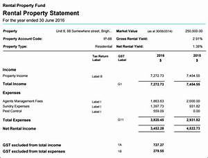 rental property statements simple fund 360 getting started With rental property income statement template