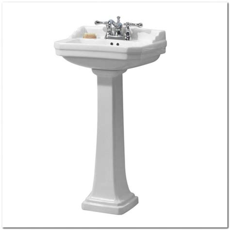 22 wide pedestal sink 24 inch white pedestal sink sink and faucet home