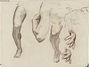 John Singer Sargent's Leg , Arm and Hand Study