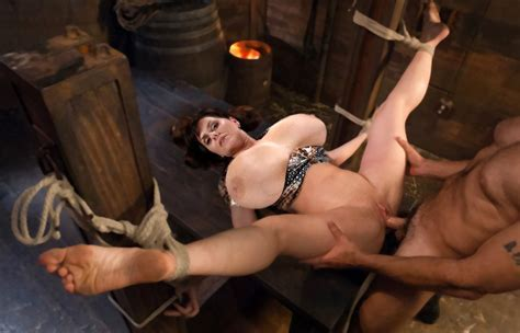 Milena Tied And Pumped In Gallery Fake Milena Sex