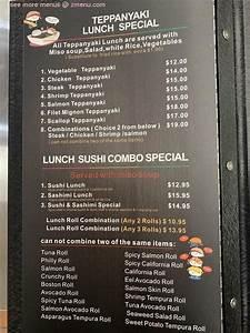 menu of kizuna japanese sushi grill restaurant