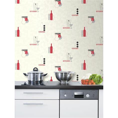 papier peint vinyle cuisine papier peint de cuisine meilleures images d 39 inspiration