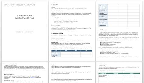 project implementation plan template sap appeal