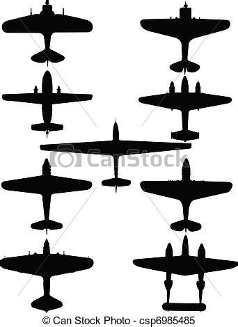 planes collection vector illustration   planes