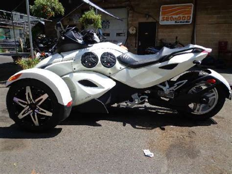 2010 Can-am Spyder Rs-s Se5 Semi-automatic 3-wheel
