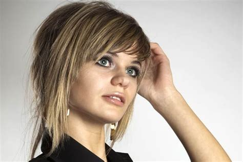 short stacked hairstyles with bangs short hairstyles 2015
