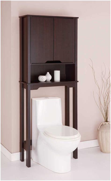 Bathroom Toilet Etagere  Oak Bathroom Space Saver Over