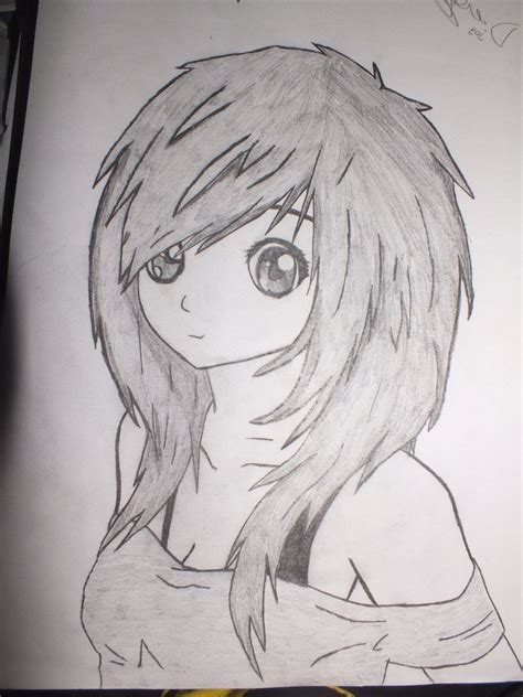 Drawing Anime Simple Anime Drawing Drawing Easy Anime By Pencil Simple Anime Drawings