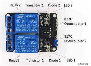 Opto Isolated Dual Relay Module  Arduino