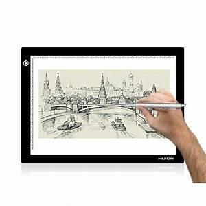 Tablette Lumineuse Dessin : huion l4s led luminosit r glable lumineuse dessin ~ Nature-et-papiers.com Idées de Décoration