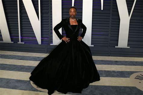 Why Billy Porter Wearing Strapless Velvet Gown The