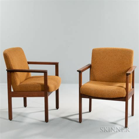 Two Armchairs by Two Chair Co Armchairs Sale Number 3049t Lot
