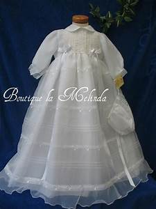 robe traditionnelle blanc avec bonnet assorti bapteme With robes bapteme