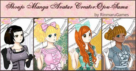 Anime Naruto Girl Creator Shoujo Manga Avatar Creator Ojou Sama By Rinmaru On Deviantart