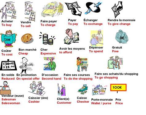 vocabulaire anglais cuisine vocabulary shopping