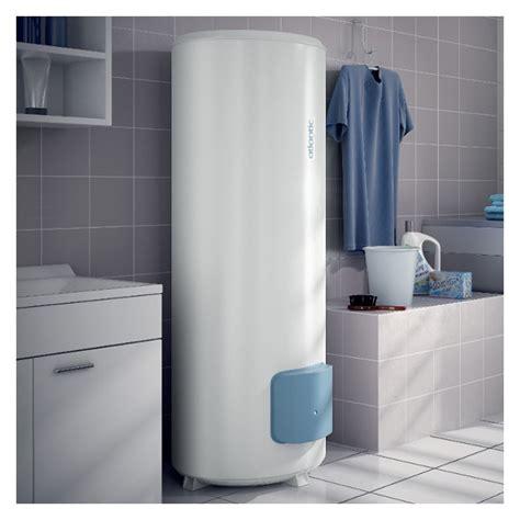 chauffe eau electrique 300l chauffe eau 233 lectrique aci hybride z 233 n 233 o vertical sur socle 300l atlantic 154330 domomat
