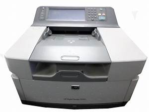 used hp 9250c digital color document sender cb472a w With hp network document scanner